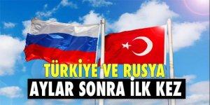 Mevlüt Çavuşoğlu ve Lavrov aylar sonra ilk kez yüz yüze görüştü