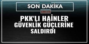 PKK'lı teröristler, Beytüşşebap'ta Emniyet Amirliği ile Jandarma Komutanlığı'na saldırdı