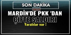 Mardin'de PKK'dan Çifte Saldırı: 3 Yaralı