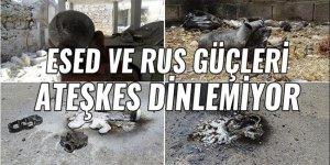 Esed ve Rus güçleri ateşkes dinlemiyor