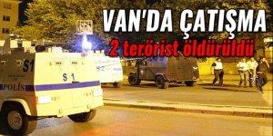 Van'da çatışma: 2 PKK'lı öldürüldü