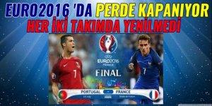 Euro 2016 'da Perde kapanıyor