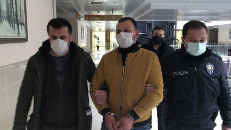 Samsun'da eski eşini darbeden zanlı tutuklandı
