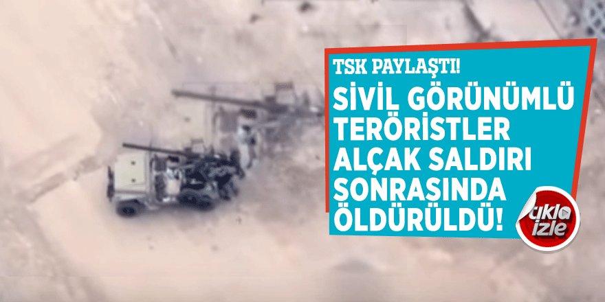 TSK öldürülen teröristlerin görüntülerini paylaştı