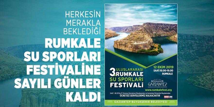 Rumkale Su Sporları Festivali başlıyor