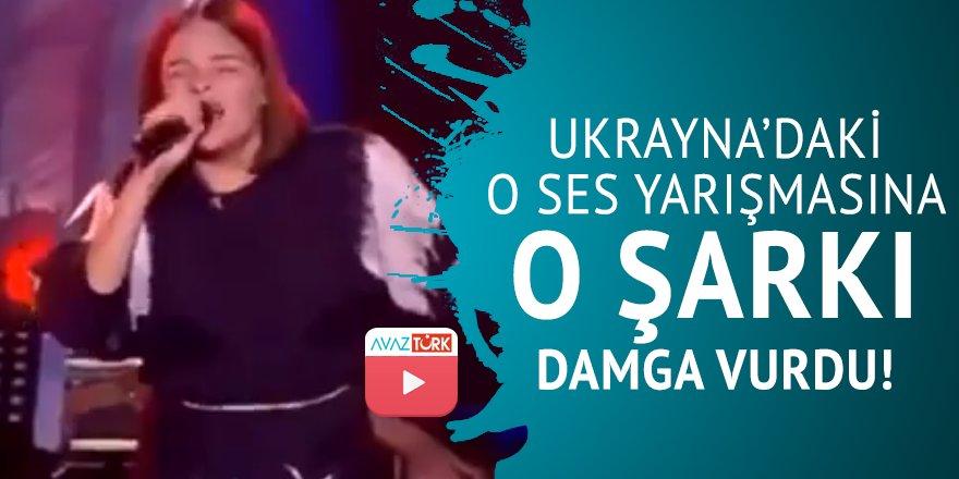 Ukrayna'daki O Ses yarışmasına o şarkı damga vurdu!