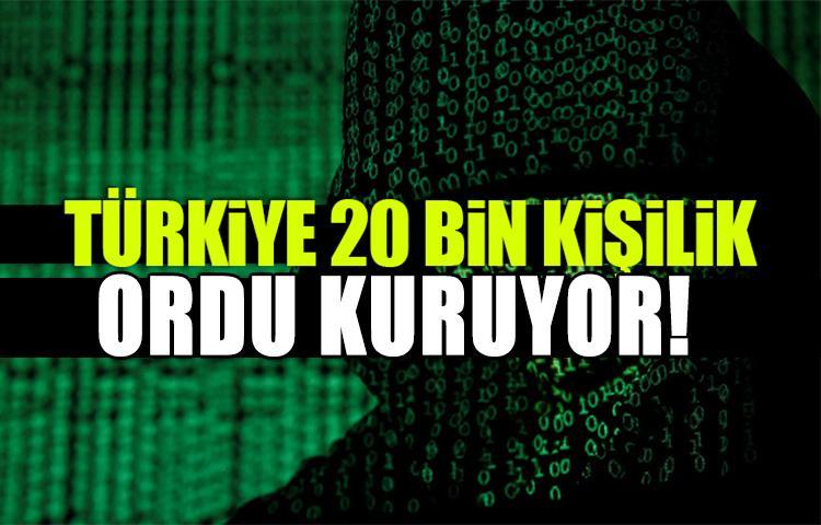 Türkiye 20 bin kişilik yeni ordu kuruyor