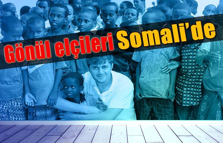 TİKA'nın gönüllü elçileri Somali'de çalışmalarına başladı