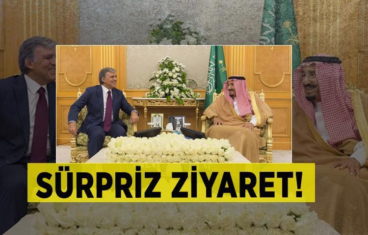 Abdullah Gül'den sürpriz ziyaret!