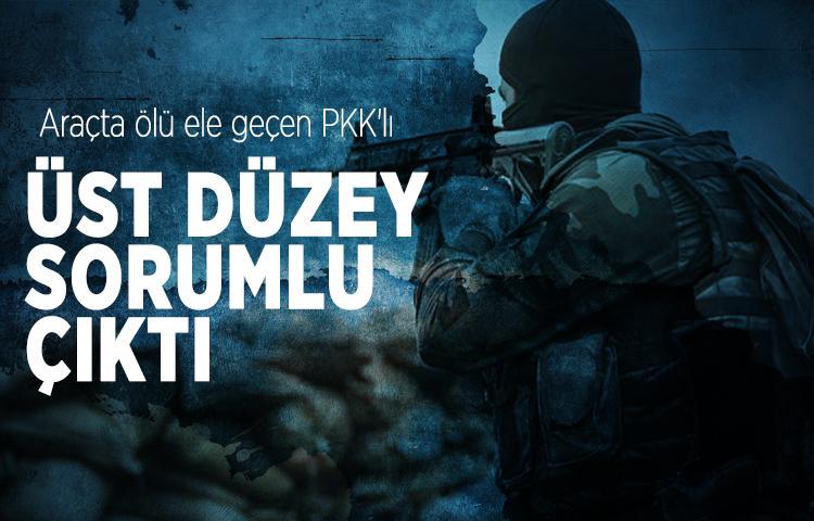 Araçta ölü ele geçen PKK'lı, örgütün üst düzey sorumlusu çıktı