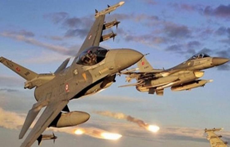 TSK teröristlere bomba yağdırdı!