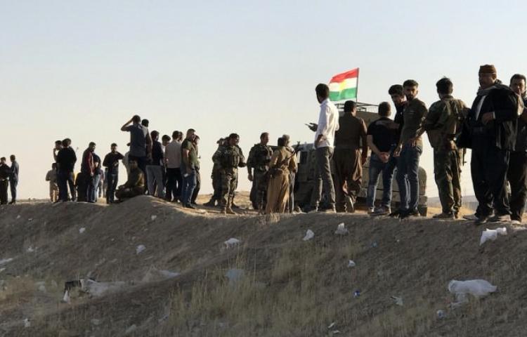 Çatışma sonrası Erbil halkı silahlandı