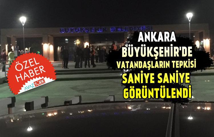 Ankara Büyükşehir'de gerginlik şiddetleniyor