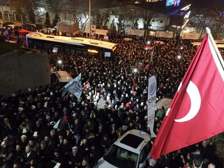 Türkiye Kudüs için sokaklara döküldü!-3