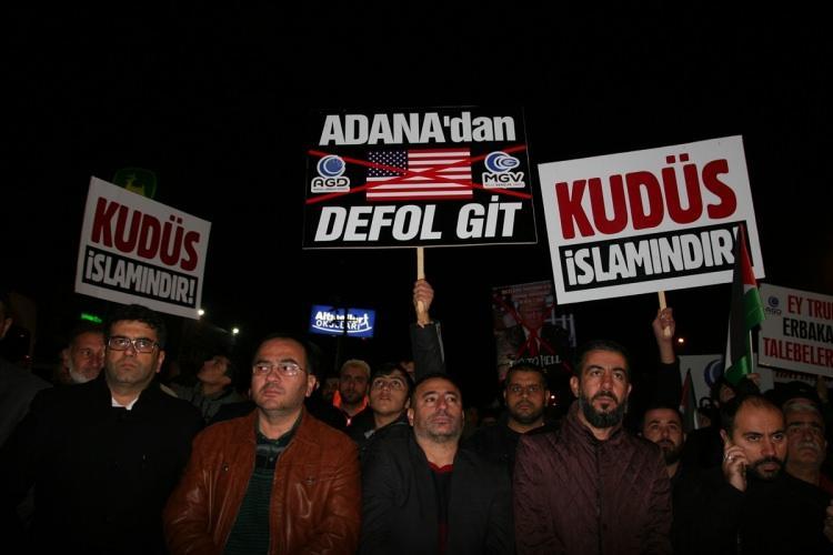 Türkiye Kudüs için sokaklara döküldü!-6