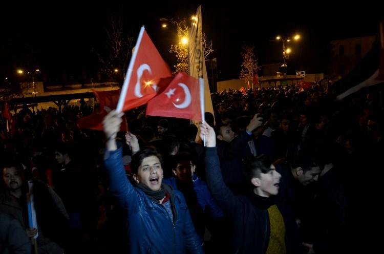 Türkiye Kudüs için sokaklara döküldü!-7