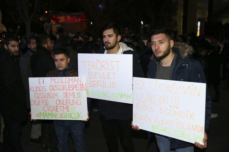 Türkiye Kudüs için sokaklara döküldü!-9
