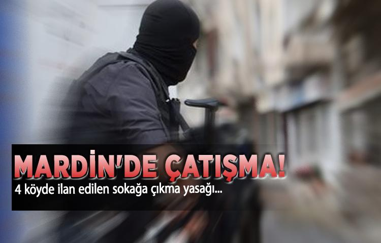 Mardin'de çatışma!